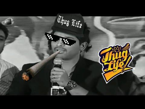 Xxx Mp4 Allu Arjun Thug Life 😂😂 3gp Sex