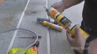 Concrete Expansion Joints and using Sika correctly