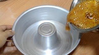 كريم كراميل بدون فرن طبيعي بدون فلان او نشا او كاسترد في طنجرة الضغط فعلا أكثر من رووعة