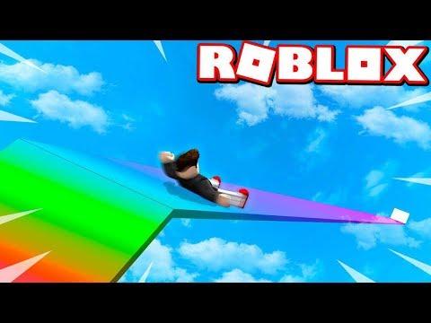 ROBLOX SLIDE 999 999 999 FEET CHALLENGE