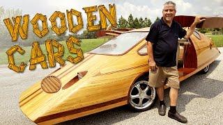 Wooden Cars   Man Creates Tree-mendous Motors