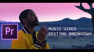 Big Sean - Bounce Back (Music Video Editing Breakdown ep. 2) (Adobe Premiere Pro CC Tutorial)
