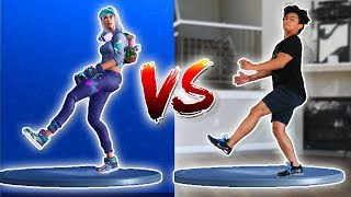 FORTNITE DANCE CHALLENGE IN REAL LIFE! ~ Guava Juice