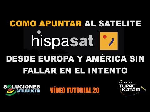 Xxx Mp4 Como Apuntar Al Satelite Hispasat Desde Europa Y América Sin Fallar En El Intento 3gp Sex