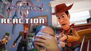 KINGDOM HEARTS 3 D23 2017 TRAILER + RELEASE DATE LIVE REACTION!
