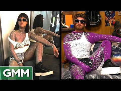 Recreating Rihanna s Coachella Glitter Suit