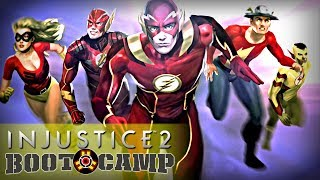 Injustice 2 - Boot Camp Episode 3 Part 1: The Flash (Arcade Ladder)