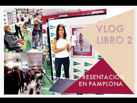 VLOG Presentacion de mi libro en Pamplona