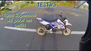 TEST#5 Une 50cc SURPUISSANTE ! hahaha ! MECABOITE 4t pour les petits !