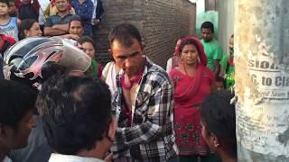 Fighting#Wife and Husband#Kathmandu#Viral#Two Wife