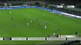 Deutschland- Italien Freundschaftsspiel 15.11.2013 1:1 Full Match GERMAN