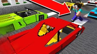CRAZY NOOB JUMPS OVER MOVING CARS!