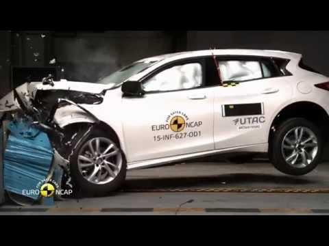 Euro NCAP Crash Test of Infiniti Q30 2015