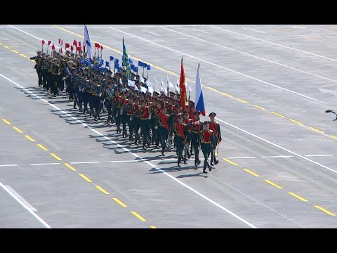 watch 1,000 Foreign Troops Participate in China's Military Parade