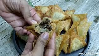 የምስር ሳንቡሳ ethiopan street food sambusa