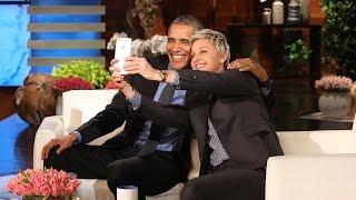 Ellen & POTUS' Commercial Break Fun
