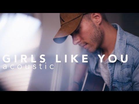 Girls Like You Maroon 5 ft. Cardi B Acoustic Cover