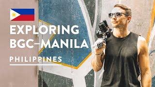 WE COULD LIVE HERE! ???????? BGC MANILA | Philippines Vlog 108, 2018 | Bonifacio Global City