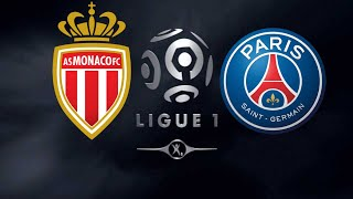 FIFA 19 MONACO VS PSG LIGUE 1