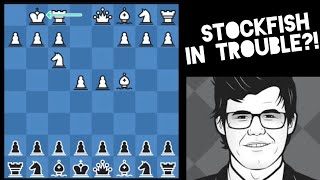 Stockfish Gives Magnus 27 the Whole Center With Black..