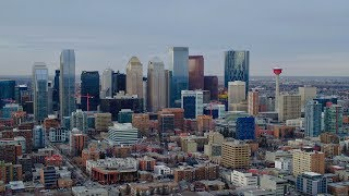 Take a drone tour of Calgary