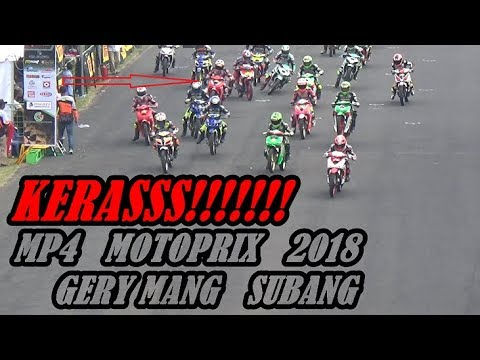 Xxx Mp4 Fullrace MOTOPRIX SUBANG 2018 MP4 PEMBALAP ART JOGJA Knalpot Creampie TAK TERBENDUNG HINGGA FINISH 3gp Sex