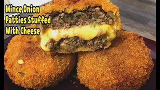 Unique Way To Make Mince And Onion Patties With Cheese /Ramadan Recipes / By Yasmin's Cooking
