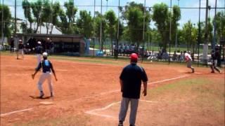 USA Softball Junior Men practice game vs Japan Highlights