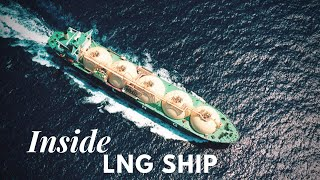 LNG Ship | Inside the bridge | Life at sea | HD
