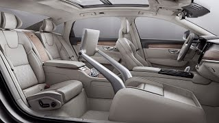 2017 Volvo S90 Sedan Excellence (China-built) - interior Exterior and Drive