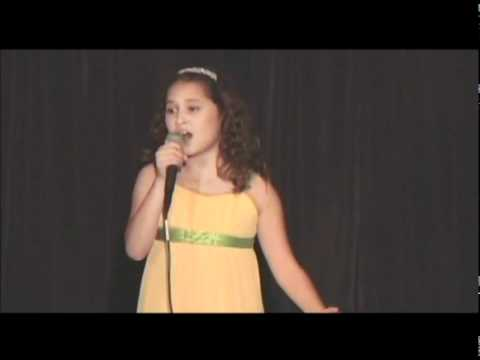 Amazing Kid Singer 9 Years Old Sings Somewhere From Barbara Streisand