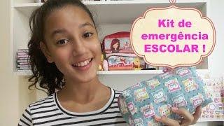Kit de emergência escolar /MARATONA VOLTA AS AULAS