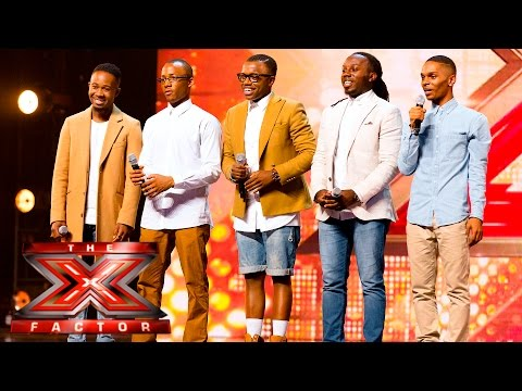There's no holding back Bekln Auditions Week 3 The X Factor UK 2015