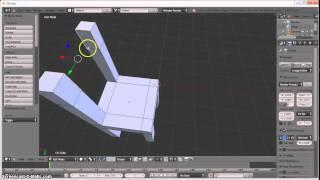Tutorial cara membuat kursi dari aplikasi blender (Dimas Bhaskoro)