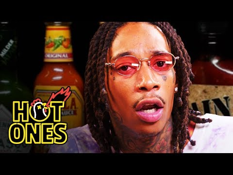 Wiz Khalifa Gets Smoked Out By Spicy Wings Hot Ones