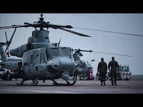 USMC Attack Helicopters • Live-Fire Training In Japan