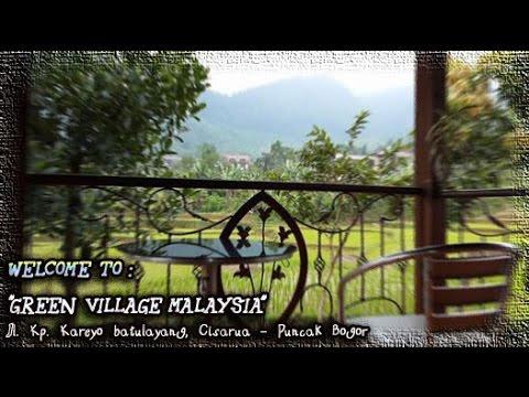 Disewa Villa Ditepi Sungai Ditengah Sawah Ladang Dan Pegunungan Cisarua Puncak Bogor