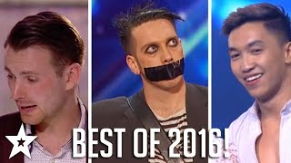 Got Talent: The Best of 2016! Including Tape Face, Richard Jones & More! | Part Two