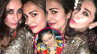 Kareena Kapoor, Karisma Kapoor Party With Girl Gang At Manish Malhotra's Party