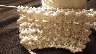 تريكو غرزة الفستون البارزة نقشة التمساح طريقة جديدة لملابس الاطفال Knitwear crocodile stitch