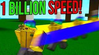 THE OWNER GAVE ME 1 BILLION SPEED! *DANGER* (Roblox Speed SImulator)