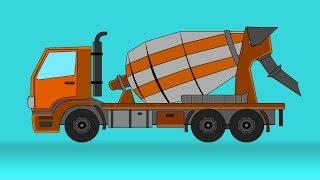 kids tv channel | concrete mixer | vehicles for children | videos for babies