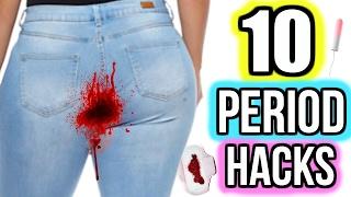 10 Period Hacks Every Girl NEEDS To Know! DIYS + HACKS