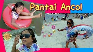 Pixel Mandi di Laut & Main Pasir | Wisata ke Pantai Ancol