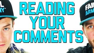 HOW DO YOUR FAILS MAKE THE WORLD A BETTER PLACE? | READING YOUR COMMENTS #1