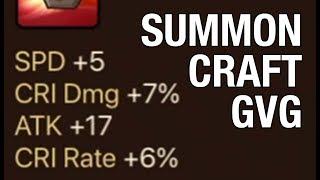 [Summoners War] Stream : Craft de runes / Summon / GvG