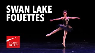 """Sharon Wehner performs """"32 Fouettes"""" from Swan Lake"""