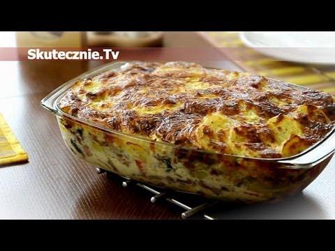 Zapiekanka ziemniaczana z kiełbasą i pieczarkami Skutecznie.Tv HD