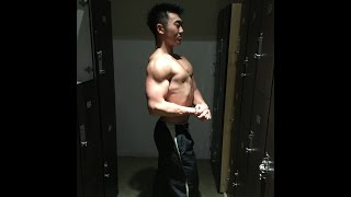 Shoulder workout w/ Niko | Day in the life of a Teen Bodybuilder