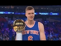 NBA All-Star Skills Challenge 2017! Kristaps Porzingis Demi God Cheese!